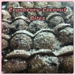 vegan cranberry coconut bites of joy vegan dessert recipe by Yaeli Shochat