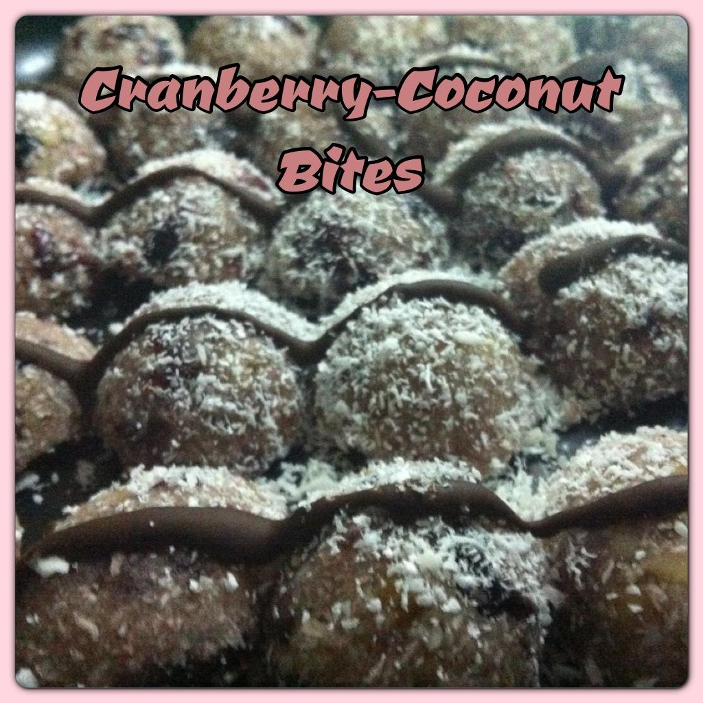 Vegan Cranberry Coconut Bites | Vegan Slaughterer