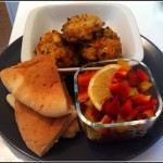 Baked Tofu and Veggies Vegan Patties by yaeli shochat