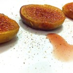 Aromatic figs in maple and ginger - vegan dessert by Yaeli Shochat