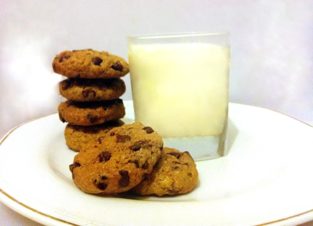 Best Chocolate chip - oat cookies ever vegan recipe by Yaeli Shochat
