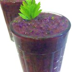 Back-to-reality Healthy  Purple Smoothie by Vegan Slaughterer Yaeli Shochat
