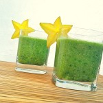 Nutritious Starfruit smoothie vegan green smoothies by Yaeli Shochat