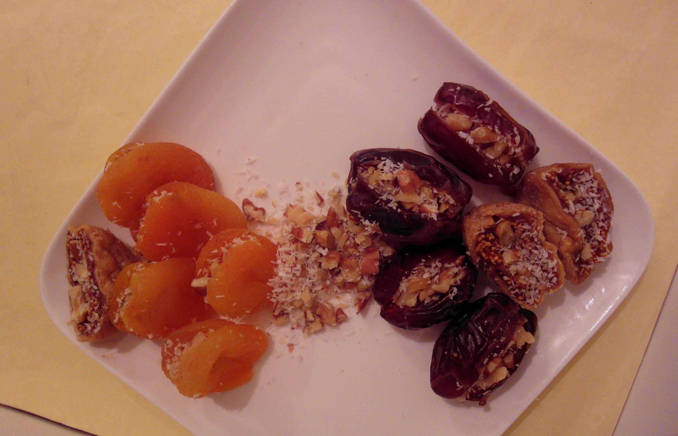Vegan Sweet Stuffed Dried Fruit Mimouna food Vegan Recipes by Vegan Slaughterer Yaeli Shochat