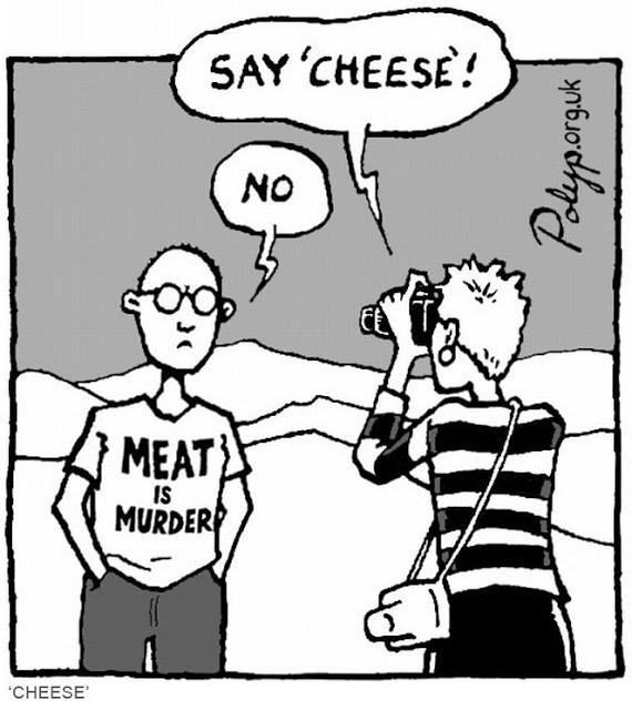 Don't Cry over Spilled Milk - Vegan Humor by Vegan Slaughterer Yaeli Shochat