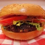 Lentil-Mushroom Burger Vegan recipe by Vegan Slaughterer Yaeli Shochat
