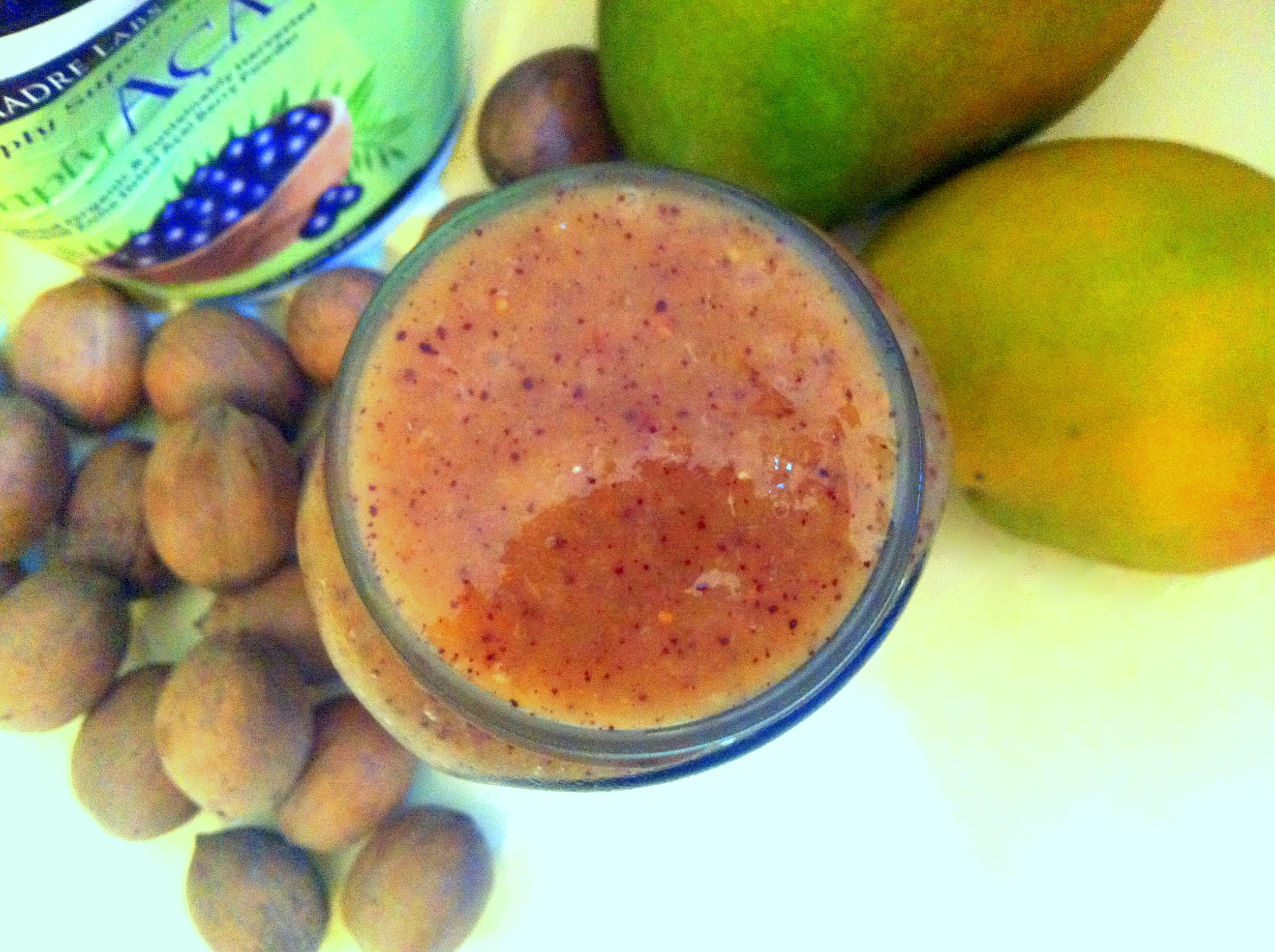 BANANALESS SMOOTHIE - Açai figs mango smoothie Vegan Recipes VEGAN SLAUGHTERER Yaeli Shochat